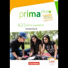 Учебник Prima plus A2 Leben in Deutschland Schülerbuch mit MP3-Download