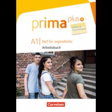 Рабочая тетрадь Prima plus A1 Leben in Deutschland Arbeitsbuch mit MP3-Download und Lösungen