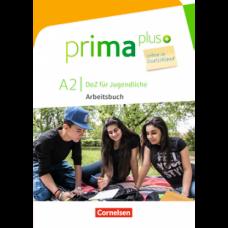 Рабочая тетрадь Prima plus A2 Leben in Deutschland Arbeitsbuch mit MP3-Download und Lösungen