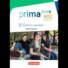 Рабочая тетрадь Prima plus B1 Leben in Deutschland Arbeitsbuch mit MP3-Download und Lösungen