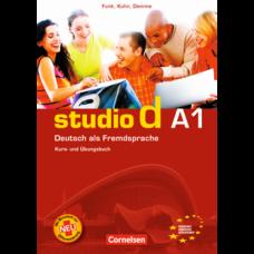 Учебник Studio d A1 Kurs- und Übungsbuch mit Lerner-Audio-CD