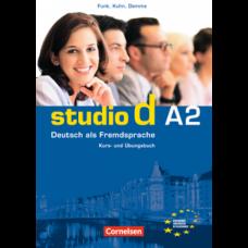 Учебник Studio d A2 Kurs- und Übungsbuch mit Lerner-Audio-CD