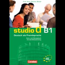 Учебник Studio d B1 Kurs- und Übungsbuch mit Lerner-Audio-CD