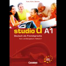 Учебник Studio d A1/1 Kurs- und Übungsbuch mit Lerner-Audio-CD
