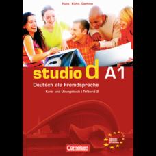 Учебник Studio d A1/2 Kurs- und Übungsbuch mit Lerner-Audio-CD