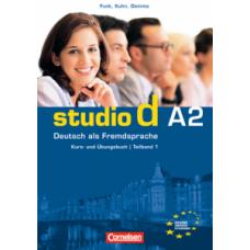 Учебник Studio d A2/1 Kurs- und Übungsbuch mit Lerner-Audio-CD