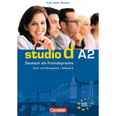 Учебник Studio d A2/2 Kurs- und Übungsbuch mit Lerner-Audio-CD