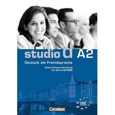 Книга для учителя Studio d А2 Unterrichtsvorbeitung Inteaktiv Auf D-ROM