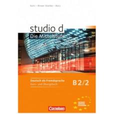 Учебник Studio d B2/2 Kurs- und Übungsbuch mit Lerner-Audio-CD