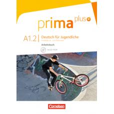 Рабочая тетрадь Prima plus A1/2 Arbeitsbuch mit CD-ROM