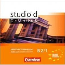 Диски  Studio d B2/1 Audio-CD