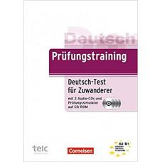 Тесты Prüfungstraining DaF Deutsch-Test für Zuwanderer (A2-B1) Übungsbuch mit CDs