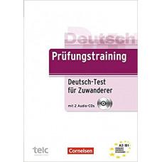 Тесты Prüfungstraining DaF Deutsch-Test für Zuwanderer (A2-B1) Übungsbuch mit CDs und Prüfungssimulator auf CD-ROM