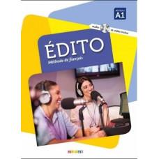 Учебник Edito A1 Livre de l'élève + DVD + CD mp3