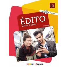 Учебник Edito B1 Livre de l'élève + DVD + CD audio