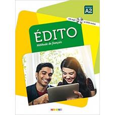 Учебник Edito A2  Livre de l'élève + DVD + CD mp3