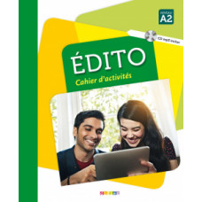 Рабочая тетрадь Edito A2  Cahier d'exercices + CD mp3