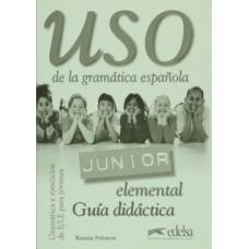 Uso de la Gramatica Junior elemental Guia didactica
