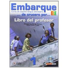 Книга для учителя Embarque 1 Libro del profesor + Audio CD