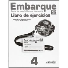 Рабочая тетрадь Embarque 4 Ejercicios