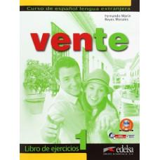 Рабочая тетрадь Vente 1  Libro Del Ejercicios A1-A2
