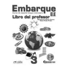 Книга для учителя Embarque 3 Libro del profesor + Audio CD