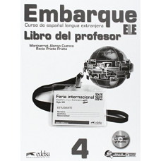 Книга для учителя Embarque 4 Libro del profesor + Audio CD