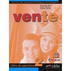Рабочая тетрадь Vente 2 Libro Del Ejercicios В1