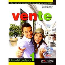 Книга для учителя Vente 1 Libro Del Profesor + CD