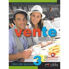 Учебник Vente 3  Libro Del Alumno B2