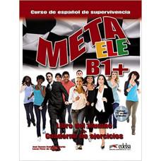 Учебник Meta ele B1+ Libro del alumno + Cuaderno de ejercicios + CD audio