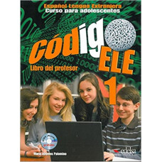 Книга для учителя Codigo ELE 1 Libro del profesor + CD audio
