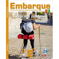Книга для учителя Embarque 2 Libro del profesor + Audio CD