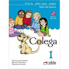 Учебник Colega 1 Libro del alumno + Libro de ejercicios + Audio CD