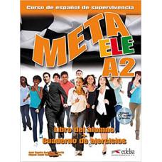 Учебник Meta ele A2 Libro del alumno + Cuaderno de ejercicios + CD audio