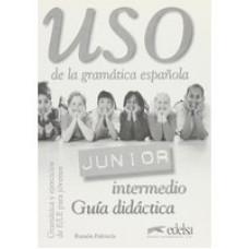 Uso de la   Gramatica Junior intermedio Guia didactica