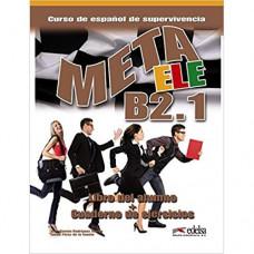 Учебник Meta ele B2.1 Libro del alumno + Cuaderno de ejercicios + CD audio