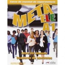 Учебник Meta ele A1 Libro del alumno + Cuaderno de ejercicios + CD audio