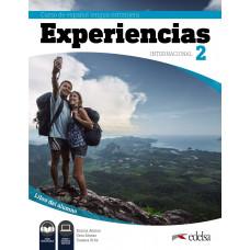 Учеюник Experiencias Internacional 2 (A2)Libro del alumno + audio descargable