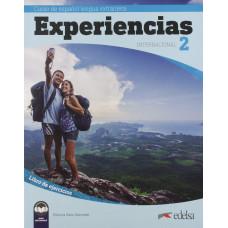 Рабочая тетрадь Experiencias Internacional  2 (A2 ) Libro de ejercicios + audio descargable