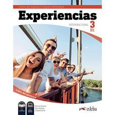 Книга для учителя Experiencias Internacional  3 (B1) Libro del profesor