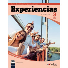 Рабочая тетрадь Experiencias Internacional 3 (B1) Libro de ejercicios + audio descargable