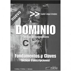 Книга для учителя Dominio: Curso de perfeccionamiento Nuevo Fundamentos y claves