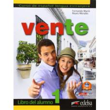 Учебник Vente 1  Libro Del Alumno А1-А2