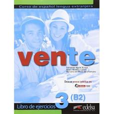 Рабочая тетрадь Vente 3 Libro Del Ejercicios В2