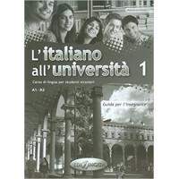 L'italiano all'universita 1 Guida per l'insegnante