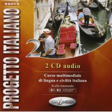 Progetto Italiano Nuovo 2 (B1-B2) CD Audio