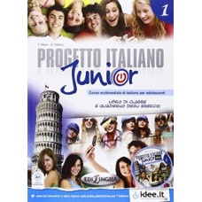 Progetto Italiano Junior 1 Libro & Quaderno + CD audio