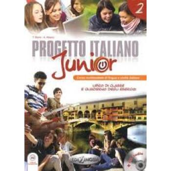 Progetto Italiano Junior 2 Libro & Quaderno + CD audio