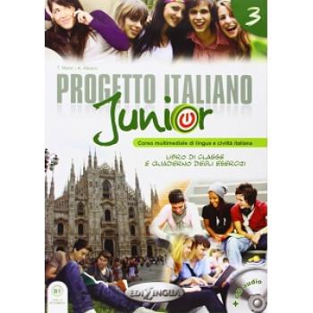 Progetto Italiano Junior 3 Libro & Quaderno + CD audio